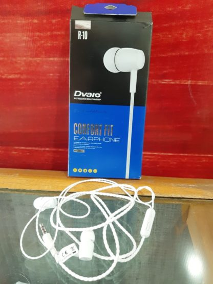 ec57a269eca DVAIO Comfort R10 Series Earphones with Mic. ₹180.00 incl. GST. Superior  Sound Quality ; Universal Wired Earphones with Mic; Compatible with all  3.5mm Jack ...